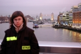 widok na Tower Bridge