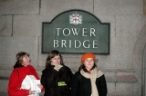 Tower Bridge - Kasia, Ania i Mej
